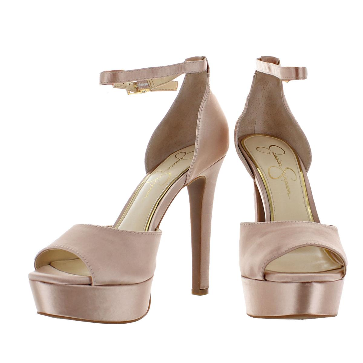 Jessica-Simpson-Women-039-s-Beeya-Ankle-Strap-Platform-Heeled-Sandals-Shoes thumbnail 7