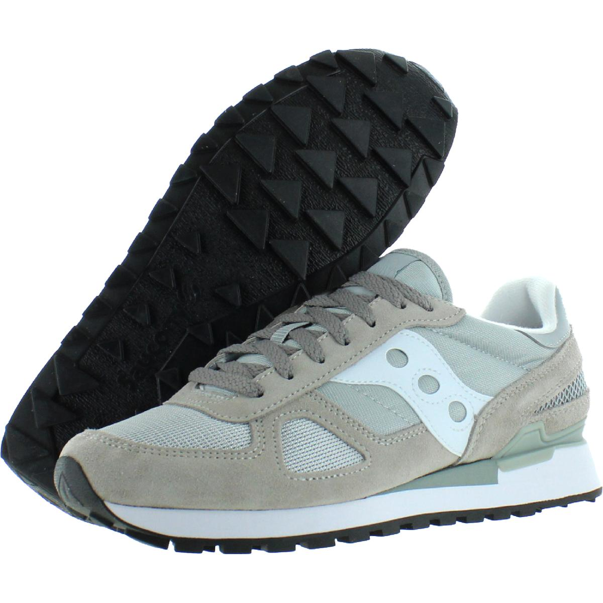 Saucony-Mens-Shadow-Original-Trainers-Suede-Comfort-Sneakers-Shoes-BHFO-0431 miniatuur 21
