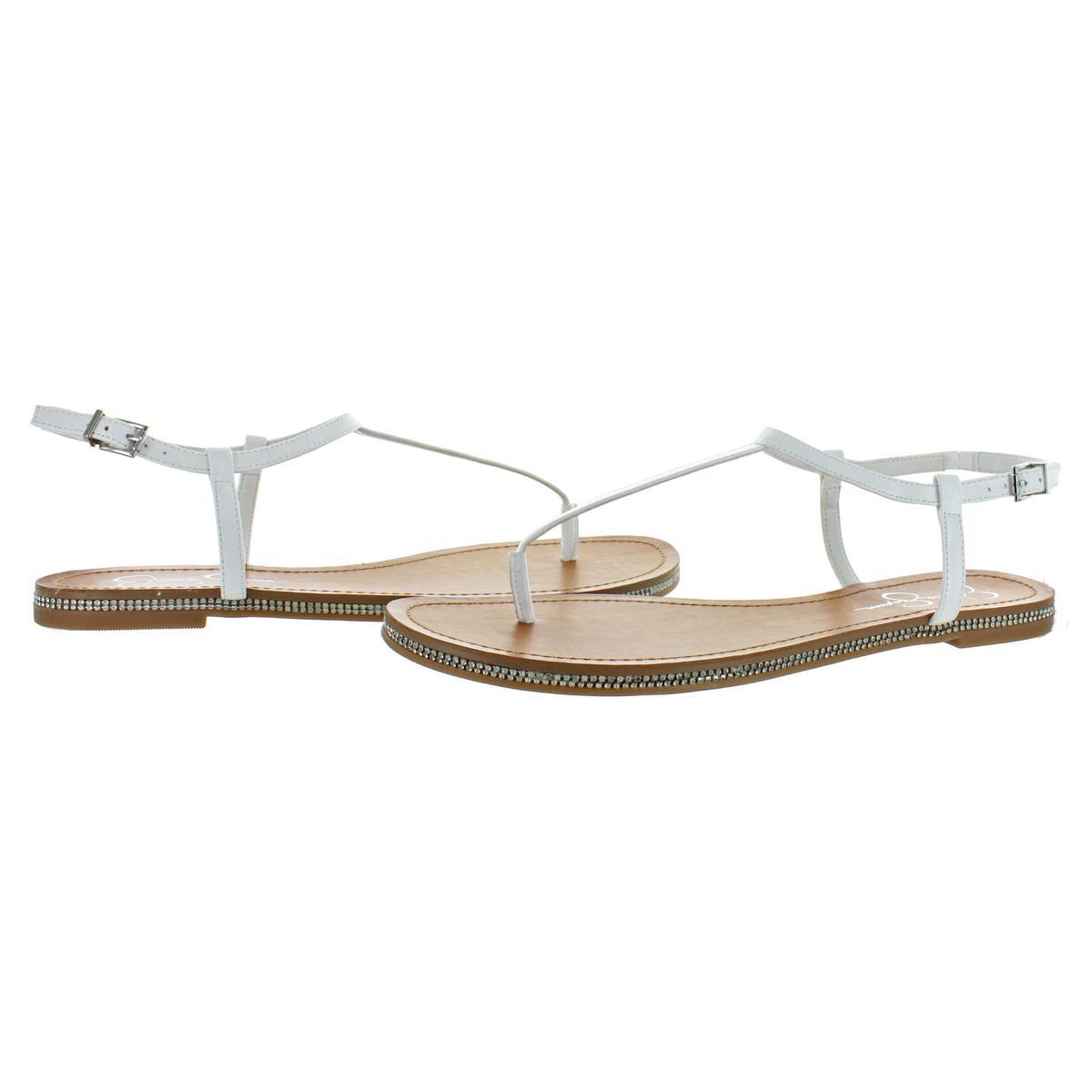 Jessica-Simpson-Femme-Brimah-Casual-String-Spartiates-Chaussures-BHFO-1194 miniature 4