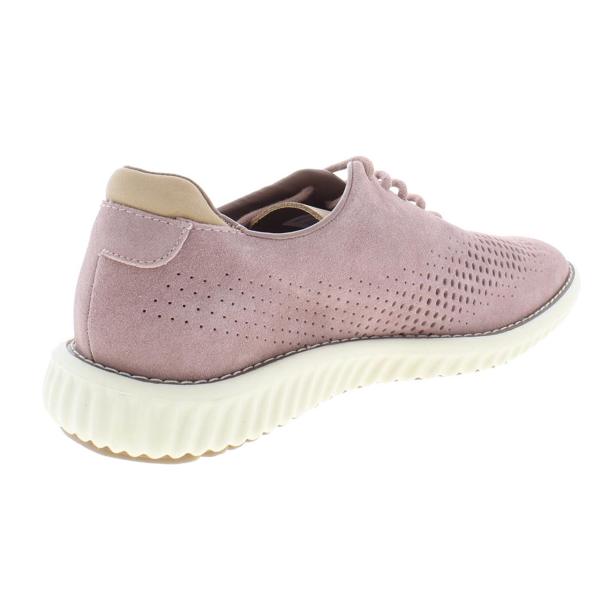 Steve-Madden-Mens-Vaelen-Suede-Perforated-Lace-Up-Oxfords-Sneakers-BHFO-9910 thumbnail 9