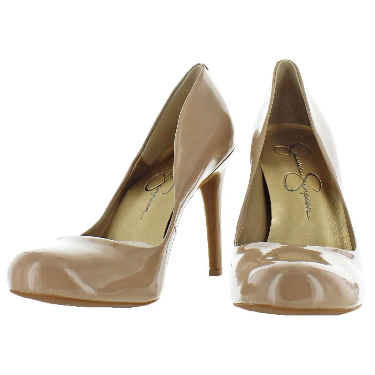 Jessica-Simpson-Women-039-s-Calie-Round-Toe-Classic-Heels-Pumps-Shoes thumbnail 10