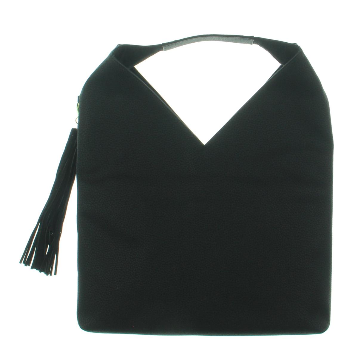39de0916e268 Details about Steve Madden Womens Bcomfyy Black Studded Hobo Handbag Purse  Large BHFO 8834
