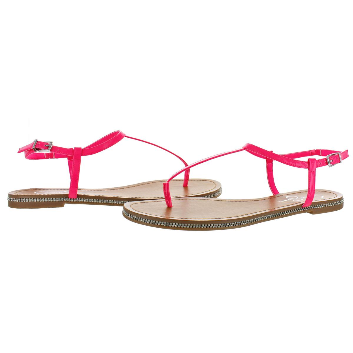 Jessica-Simpson-Femme-Brimah-Casual-String-Spartiates-Chaussures-BHFO-1194 miniature 10