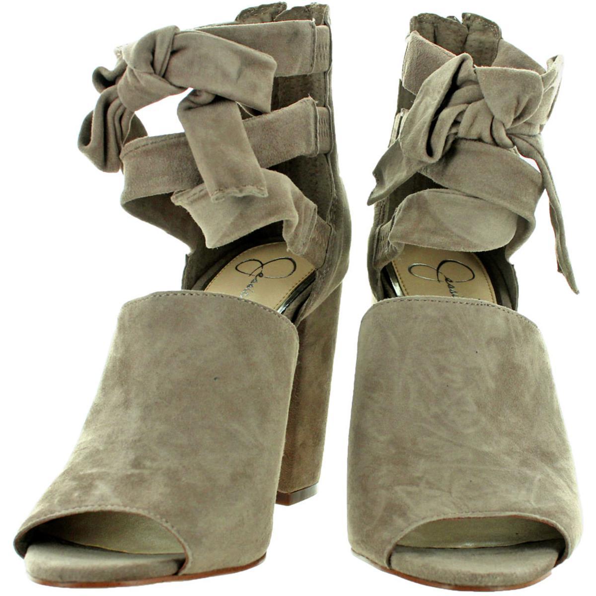 Jessica-Simpson-Kandiss-Women-039-s-Open-Toe-Block-Heel-Dress-Shoes thumbnail 9
