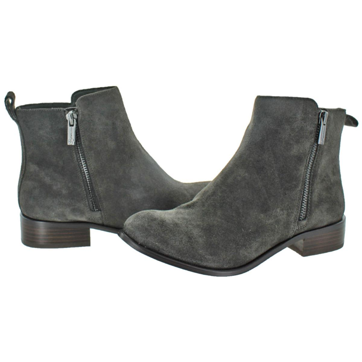 Jessica-Simpson-Kesaria-Ankle-Casual-Suede-Booties-Boots thumbnail 5
