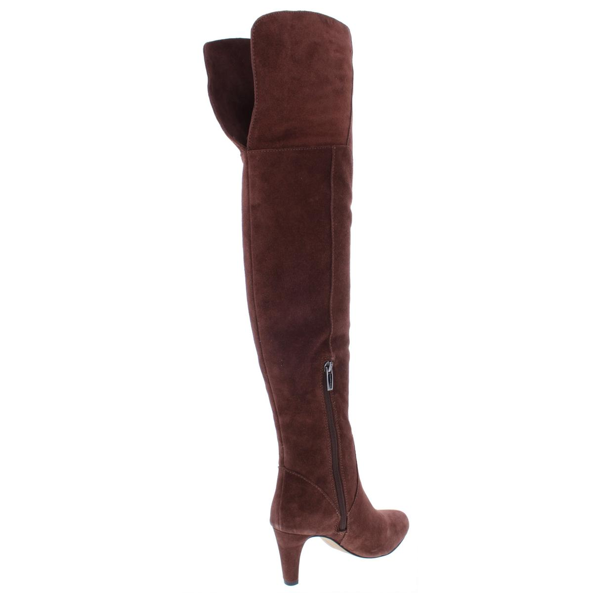 ffac69dc043 Vince Camuto Womens Armaceli Suede Round Toe Over-The-Knee Boots ...