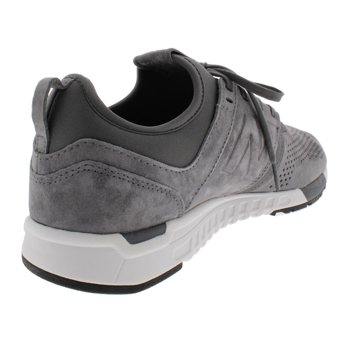 New-Balance-Mens-247-Suede-Lifestyle-Trainer-Running-Shoes-Athletic-BHFO-3803 thumbnail 4