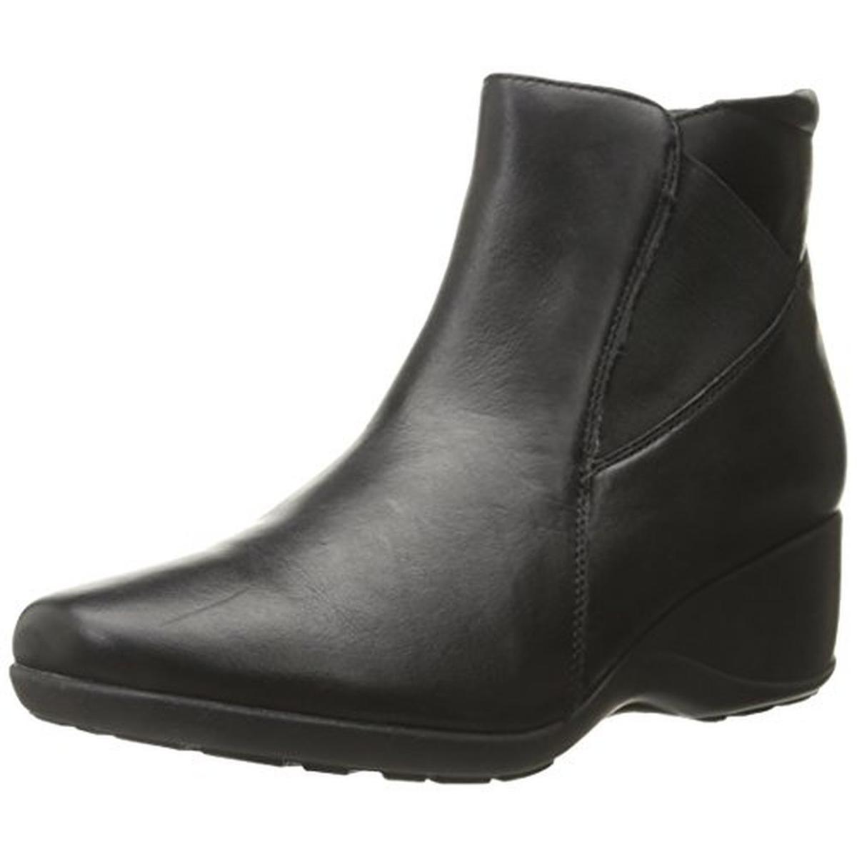 4617c69eaffcf Details about Clarks Womens Allura Mystic Black Chelsea Boots Shoes 9  Medium (B,M) BHFO 7156