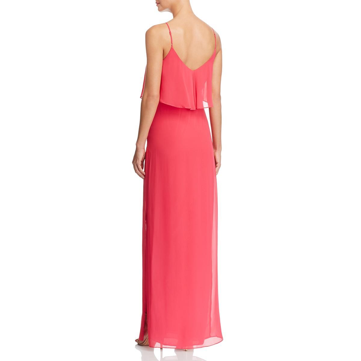 Laundry by Shelli Segal Womens Maxi Maxi Maxi Evening Ruffled Evening Dress Gown BHFO 0108 7fd869