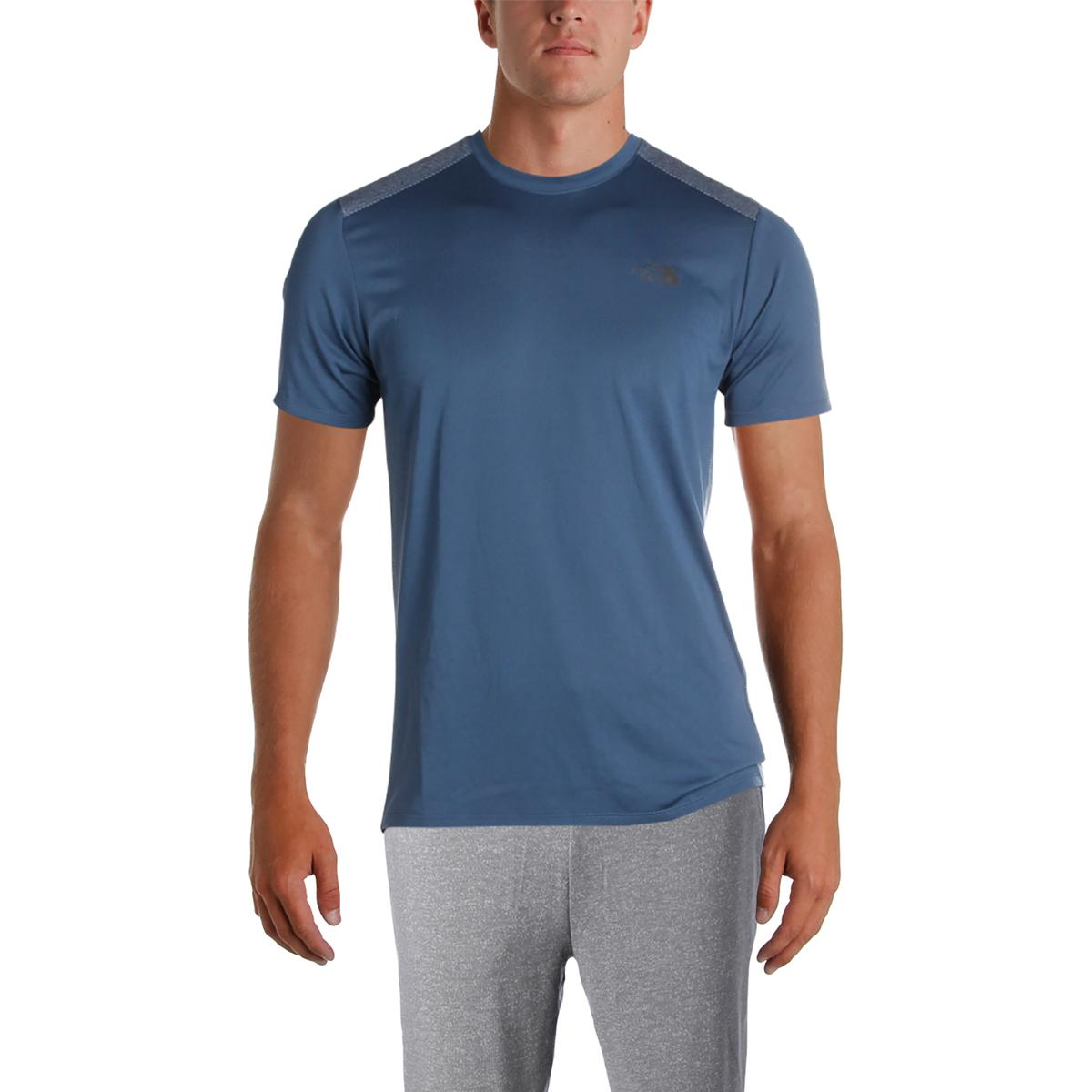 Details about The North Face Mens Versitas Navy Fitness Shaping T-Shirt  Athletic M BHFO 7342 91399bb0b891