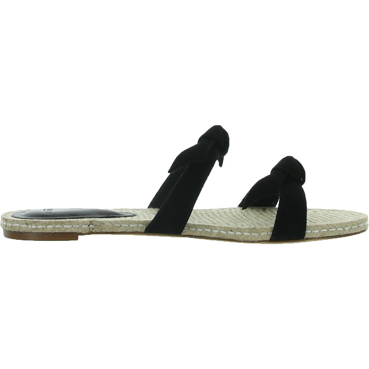thumbnail 6 - Alexandre Birman Womens Clarita Leather Flats Slide Sandals Shoes BHFO 6244
