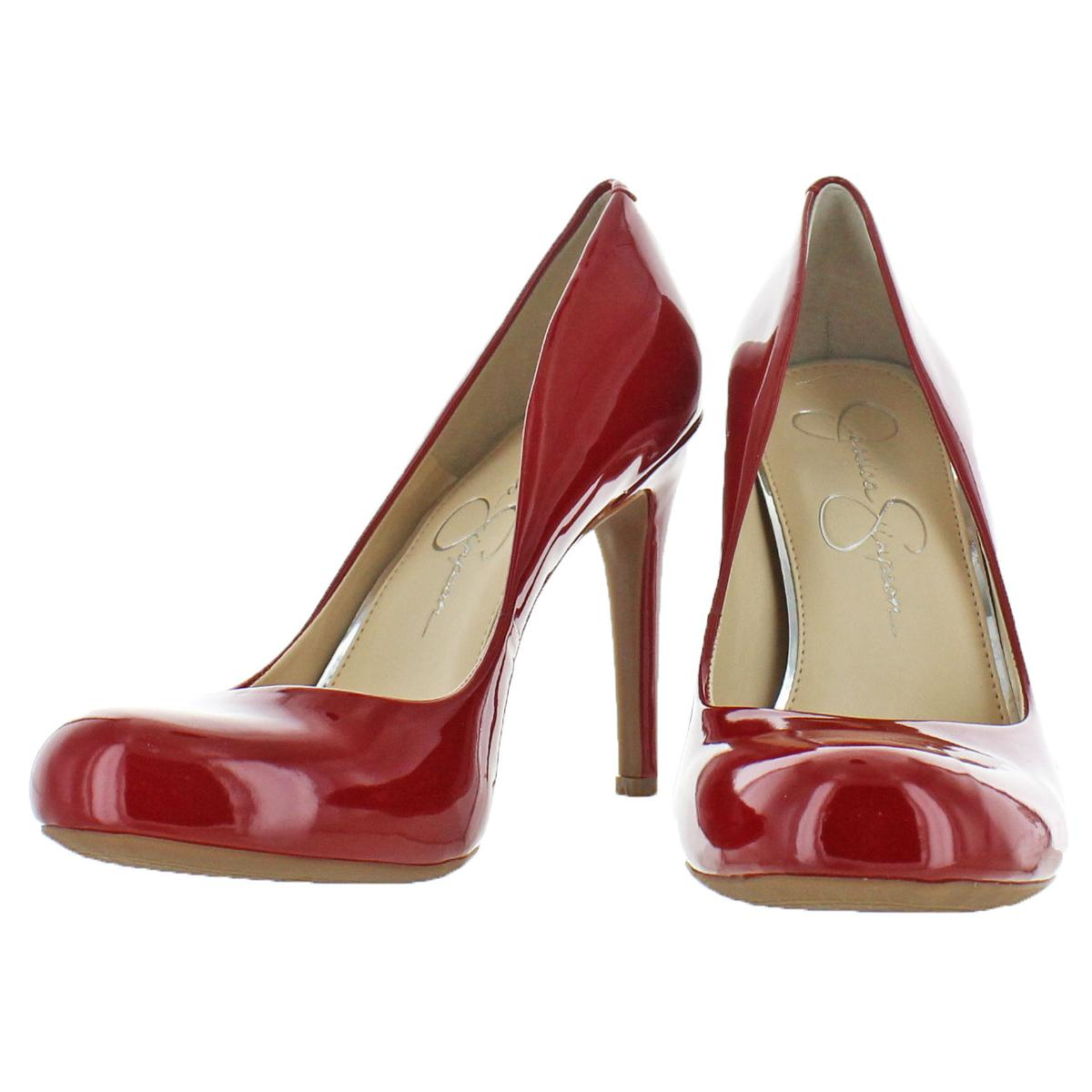 Jessica-Simpson-Women-039-s-Calie-Round-Toe-Classic-Heels-Pumps-Shoes thumbnail 18
