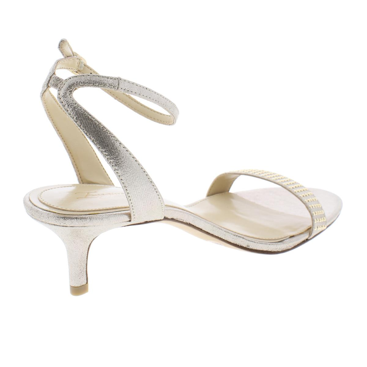 Imagine Imagine Imagine Vince Camuto donna Kevil Metallic Heels Evening Sandals scarpe BHFO 9200 2a9e54