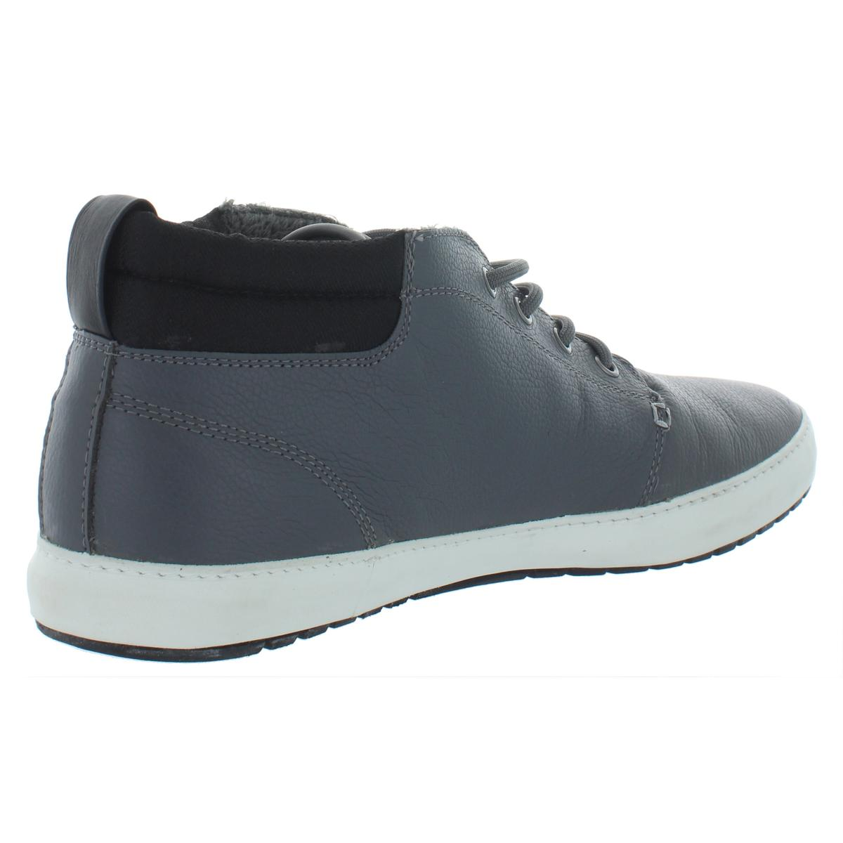 Lacoste-Men-039-s-Ampthill-Leather-Chukka-Mid-Top-Fashion-Sneakers-Shoes thumbnail 6