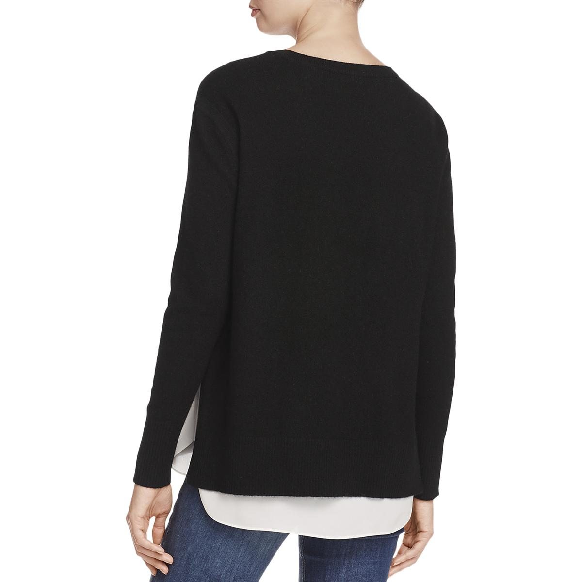 Crewneck Layered Private Cashmere Bhfo Label Blend Sweater 8104 Womens Pullover qwZgIPUZ