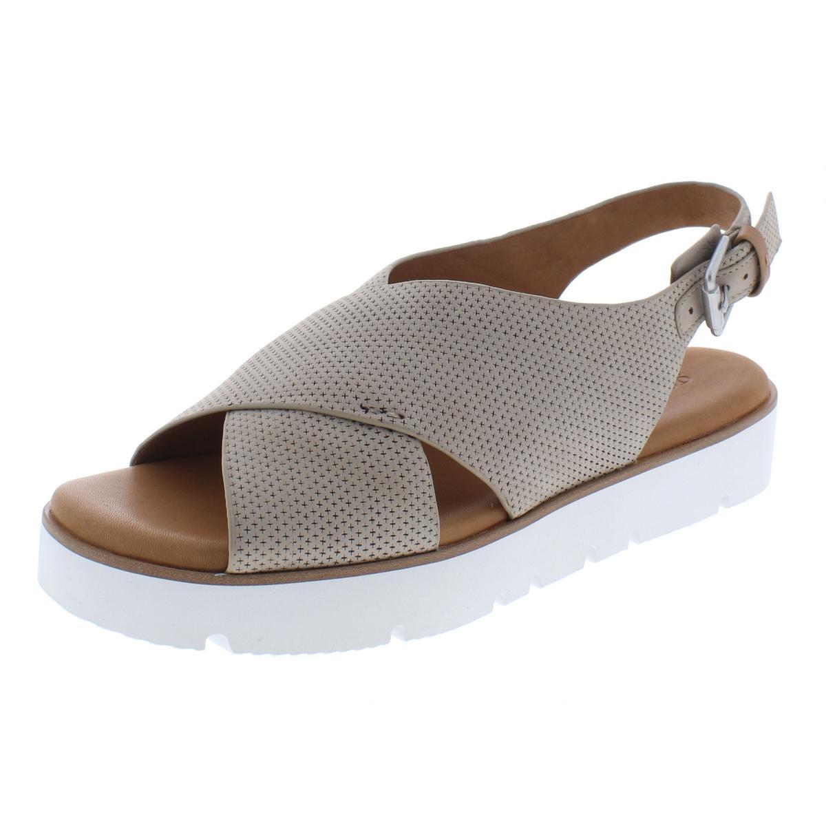 7543a476def Details about Gentle Souls by Kenneth Cole Womens Kiki Platform Sandals 7.5  Medium (B