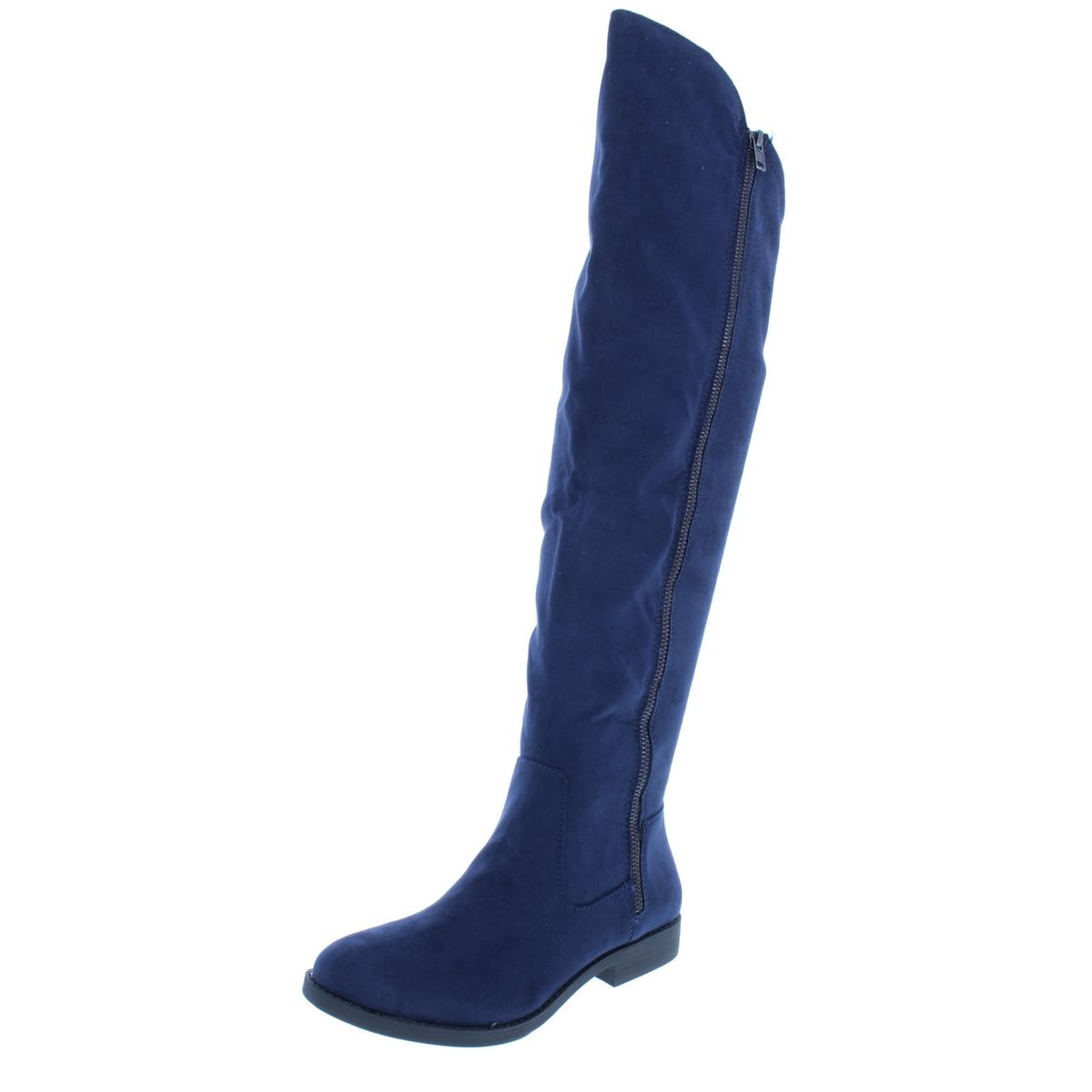 Style Over-The-Knee & Co. Damenschuhe Hadleyy Faux Suede Over-The-Knee Style Stiefel Schuhes BHFO 3275 c8df48