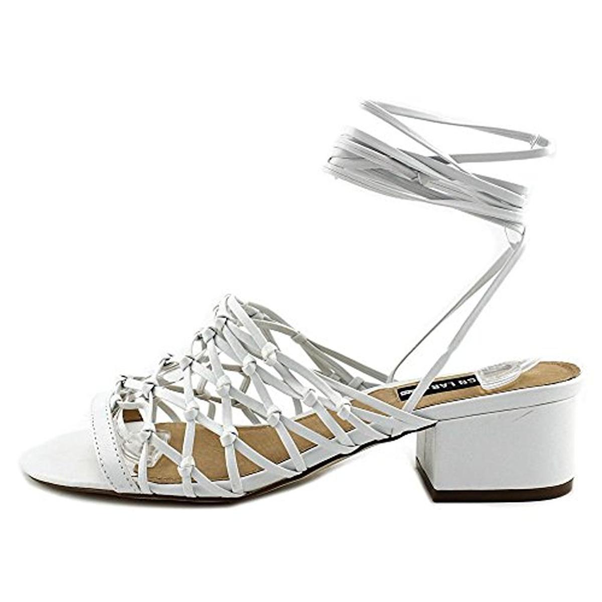 Design-Lab-Womens-Mya-Wrap-Open-Toe-Dress-Heels-Shoes-BHFO-2941 thumbnail 16