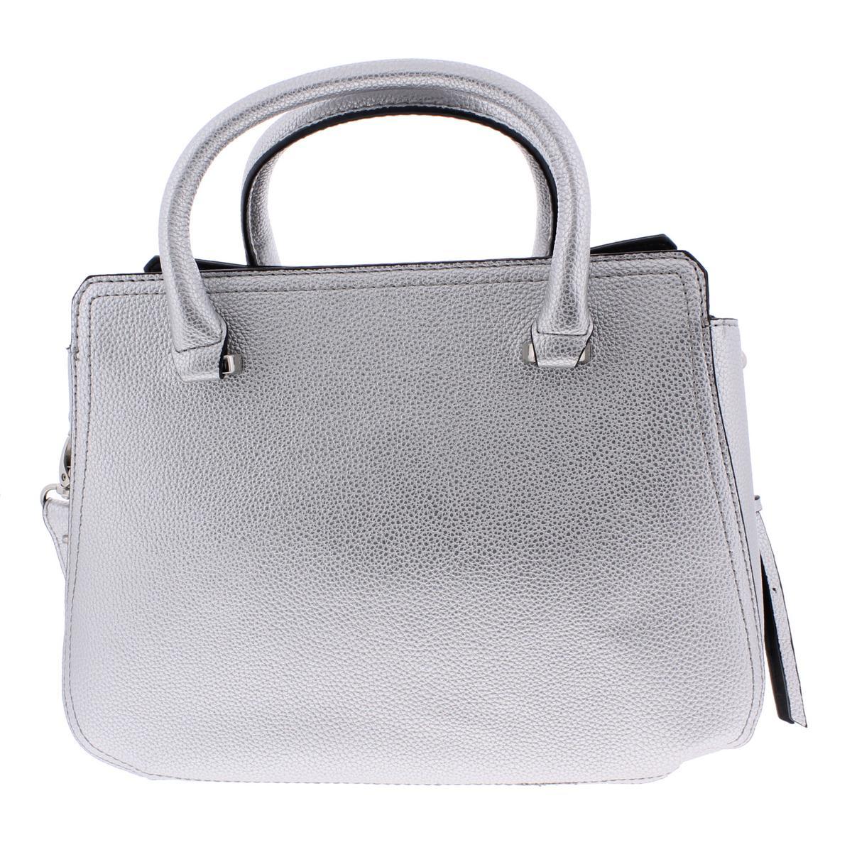 5c4b03c7d64a London Fog Womens Kate Signature Convertible Satchel Handbag Purse ...