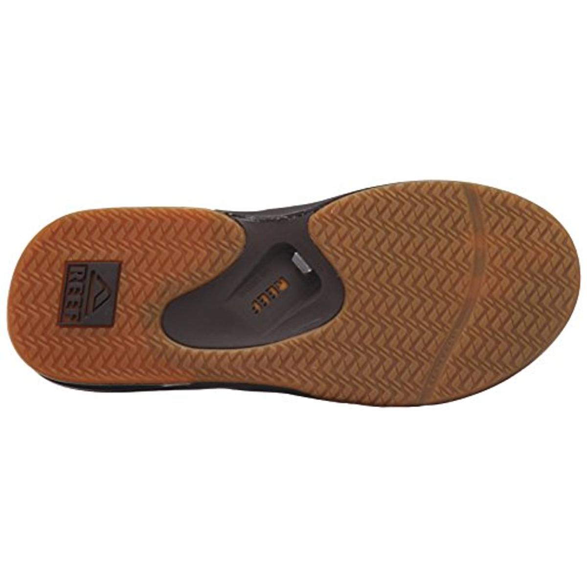 reef 4677 mens fanning ii bottle opener thong sandals flip flops shoes bhfo ebay. Black Bedroom Furniture Sets. Home Design Ideas