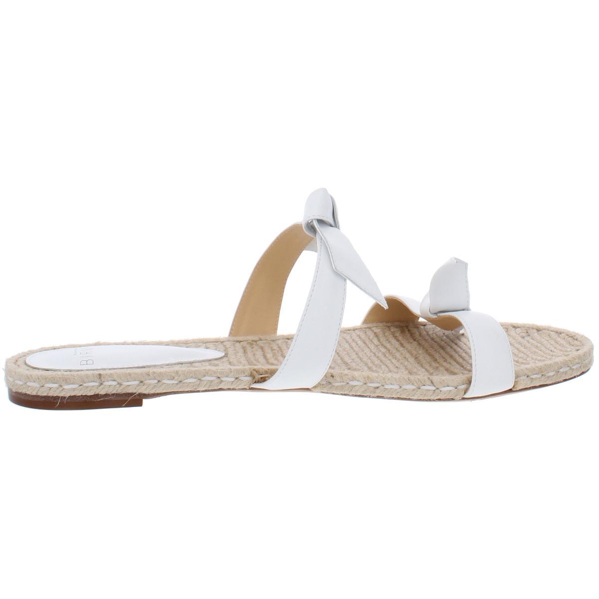thumbnail 11 - Alexandre Birman Womens Clarita Leather Flats Slide Sandals Shoes BHFO 6244