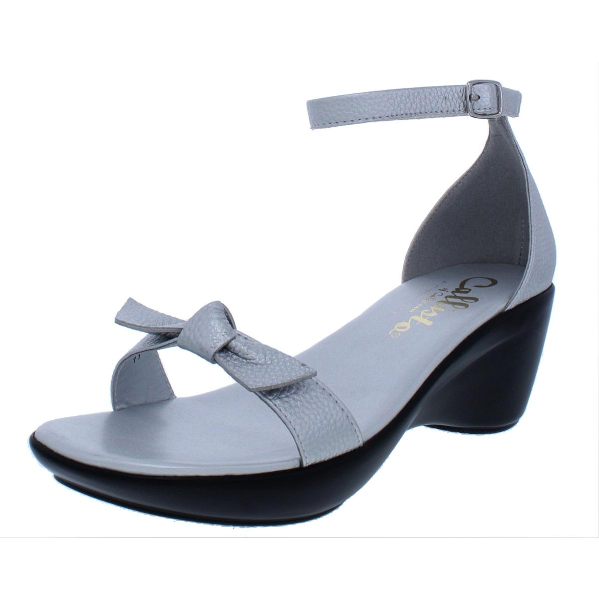 Callisto of California Damenschuhe Sarrita Pebbled Wedge Wedge Wedge Sandales Schuhes BHFO 6236 95db1a