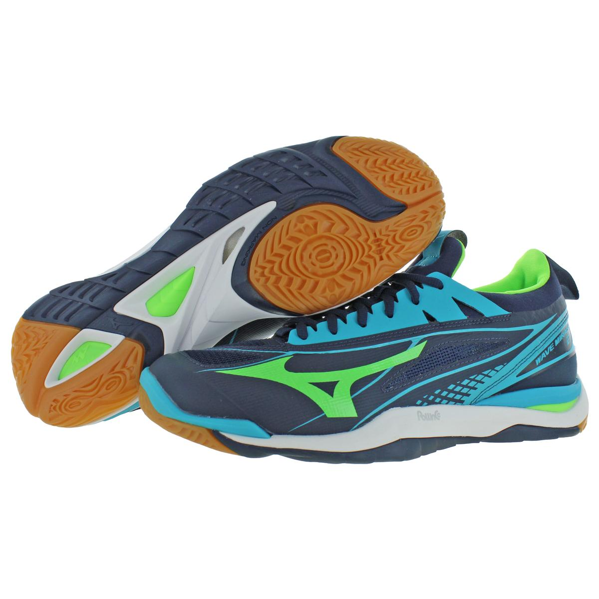 Mizuno-Mens-Wave-Mirage-2-Non-Marking-Handball-Lace-Up-Sneakers-Shoes-BHFO-9072 thumbnail 6