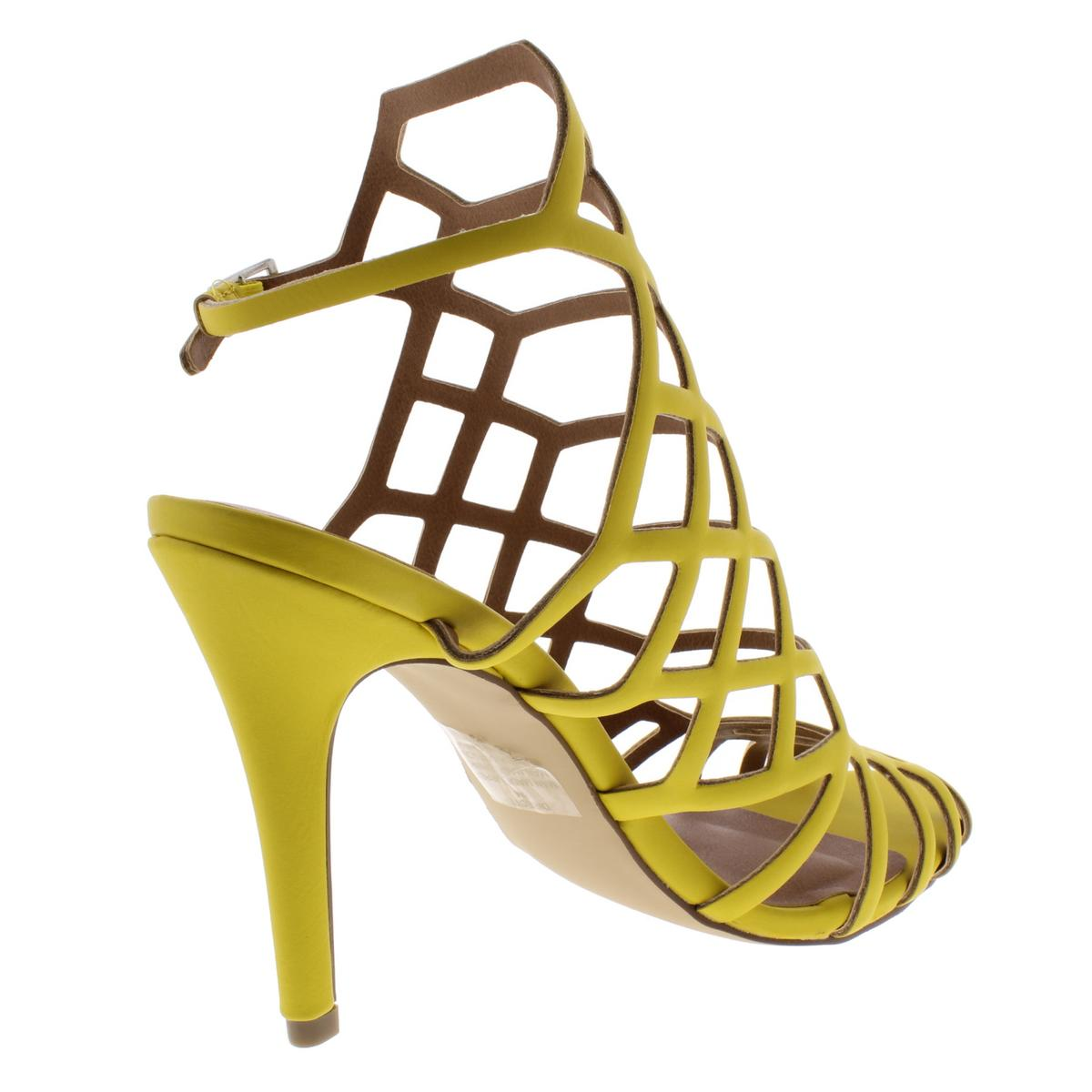 ed2f6cea72b Details about Madden Girl by Steve Madden Womens Directt Caged Dress  Sandals Shoes BHFO 6443