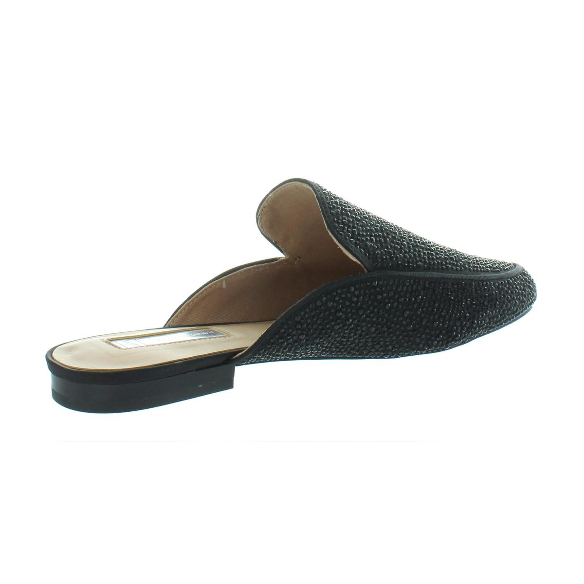 INC-Womens-Gannie12-Embellished-Loafer-Round-Toe-Mules-Flats-BHFO-9730 thumbnail 4