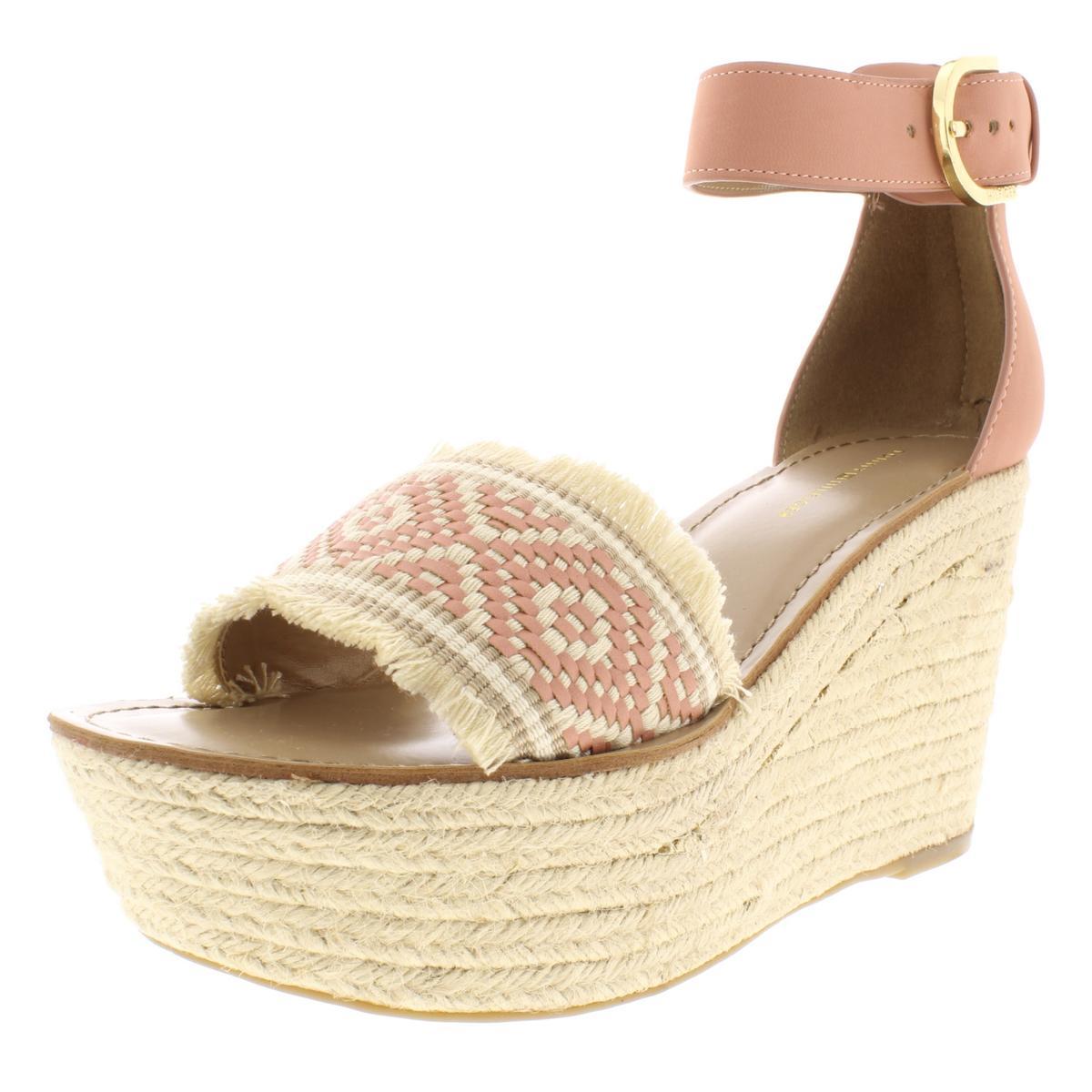 46ffc856eb Details about Tommy Hilfiger Womens Terrin Sandals Platform Espadrilles  Wedges BHFO 7489
