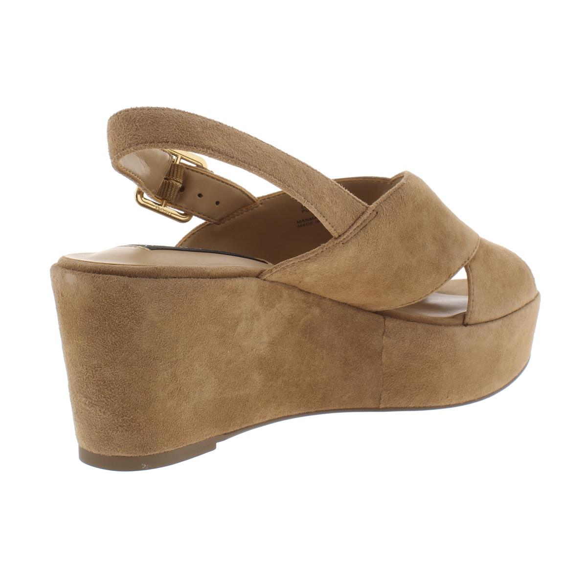 Steven By Steve Steve Steve Madden Womens Sol Suede Wedges Dress Sandals shoes BHFO 7716 01cd12