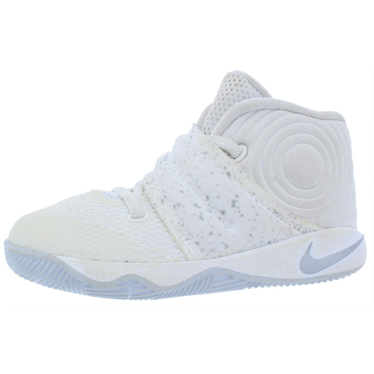 c87ab70f7637 Details about Nike Boys Kyrie 2 (TD) White Basketball Shoes 7 Medium (D)  Toddler BHFO 8521
