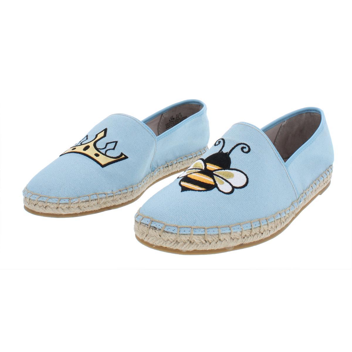 Circus-by-Sam-Edelman-Womens-Leni-6-Canvas-Slip-On-Loafer-Flats-Shoes-BHFO-4603 thumbnail 7