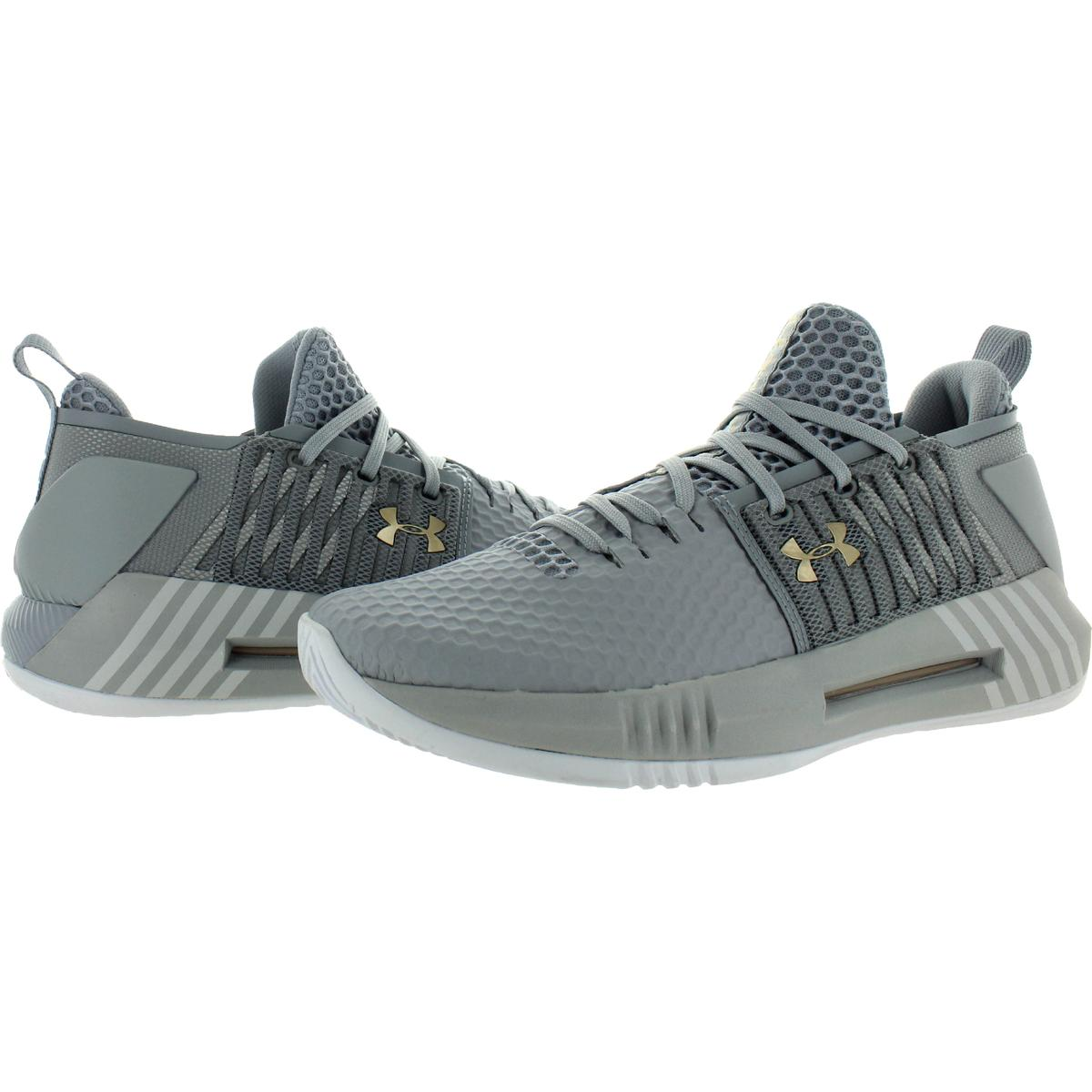 miniatuur 6 - Under Armour Mens Drive 4 Low Fitness Workout Trainers Sneakers Shoes BHFO 8843
