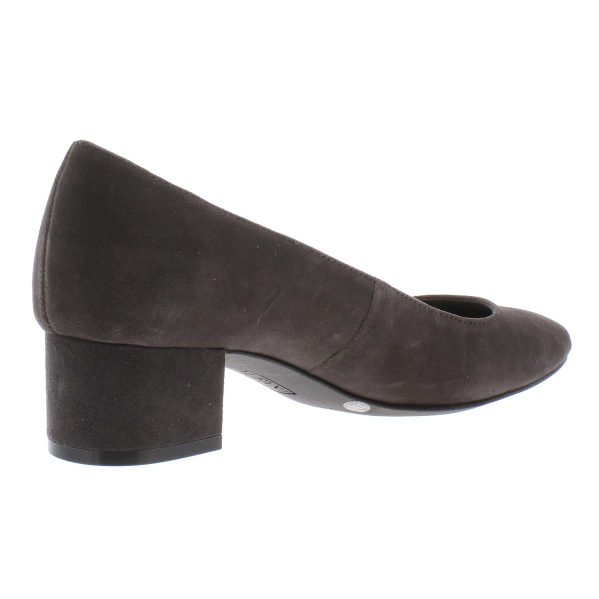 Alfani-Womens-Daleah-Padded-Insole-Block-Heel-Almond-Toe-Pumps-Shoes-BHFO-4725 thumbnail 4