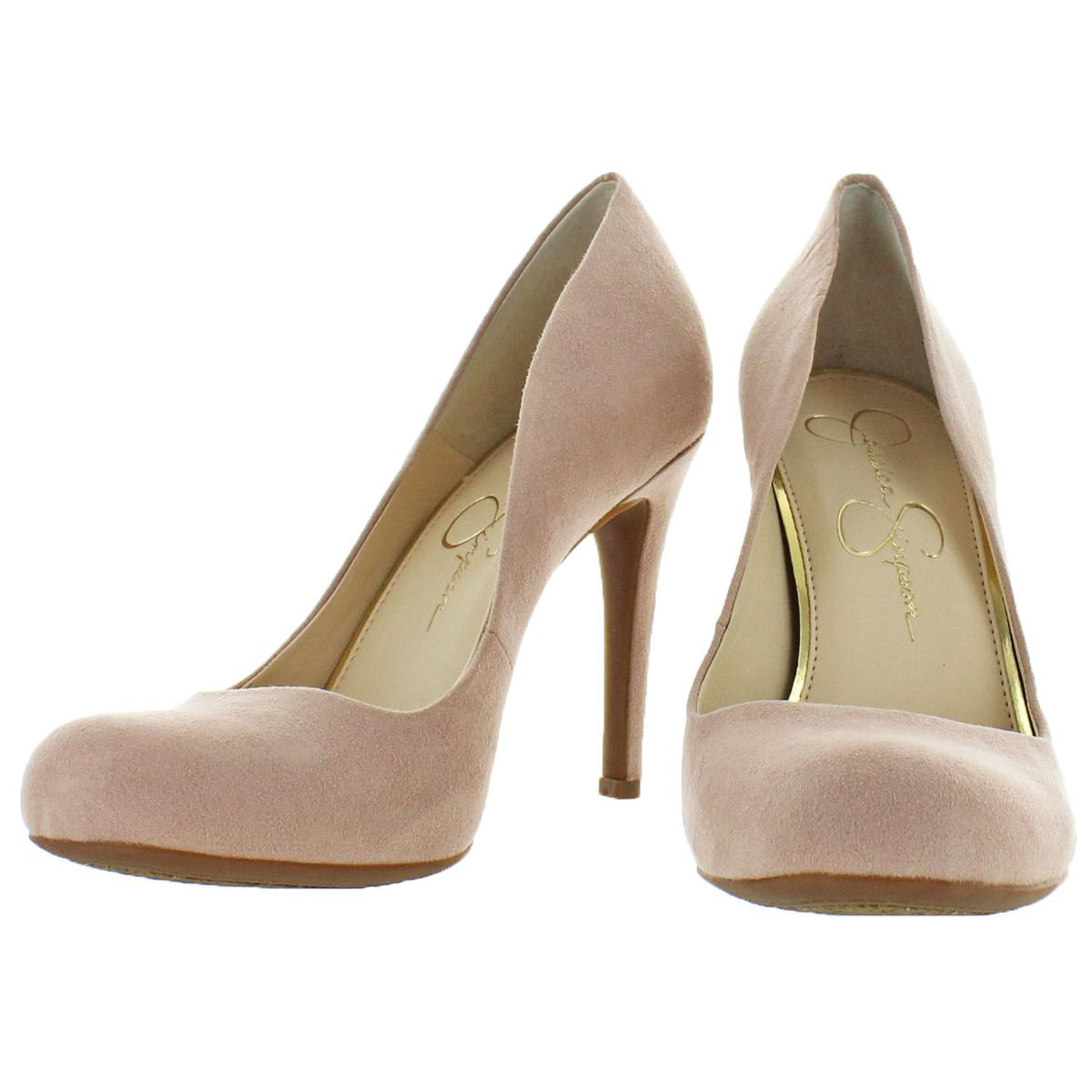 Jessica-Simpson-Women-039-s-Calie-Round-Toe-Classic-Heels-Pumps-Shoes thumbnail 7