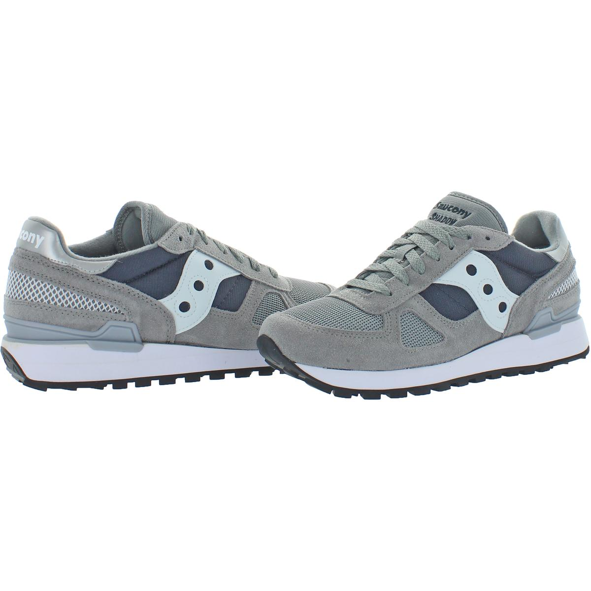 Saucony-Mens-Shadow-Original-Trainers-Suede-Comfort-Sneakers-Shoes-BHFO-0431 miniatuur 19