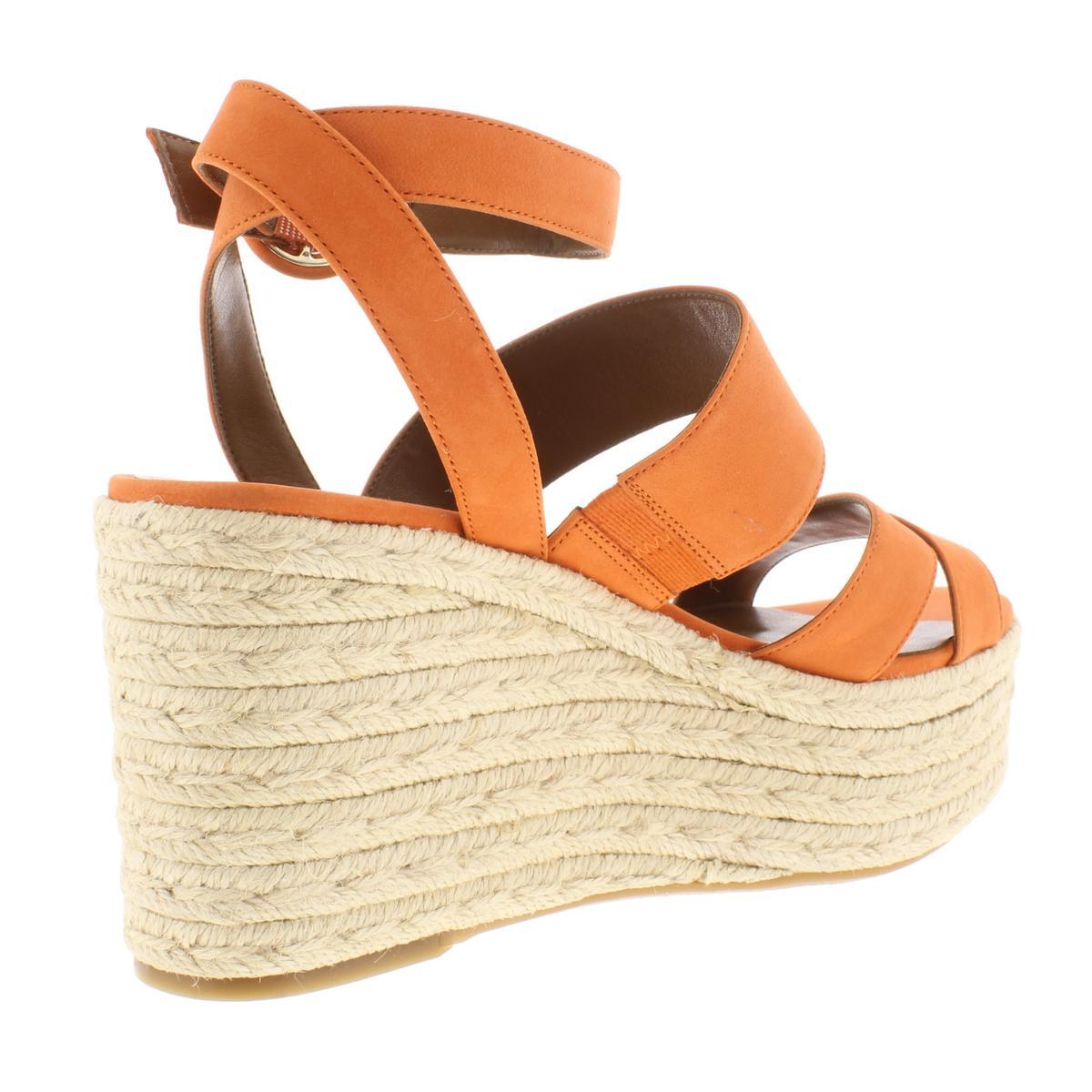 Nine-West-Womens-Kushala-Nubuck-Espadrille-Wedge-Sandals-Shoes-BHFO-7013 thumbnail 10
