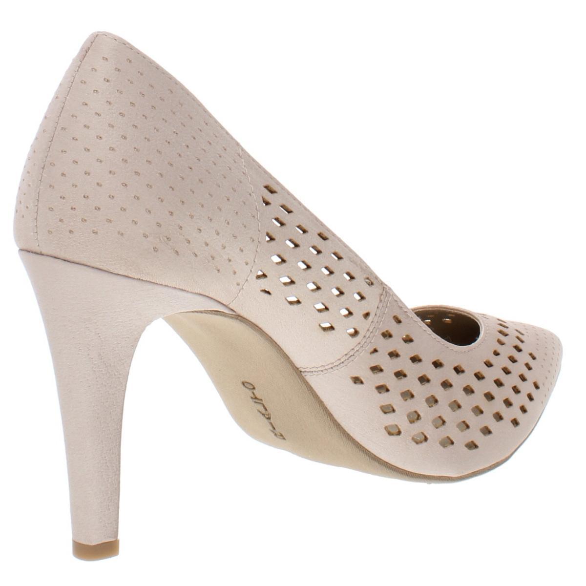 Rialto-Womens-Moreen-Patent-Pointed-Toe-Comfort-Fit-Dress-Pumps-Heels-BHFO-6456 thumbnail 6