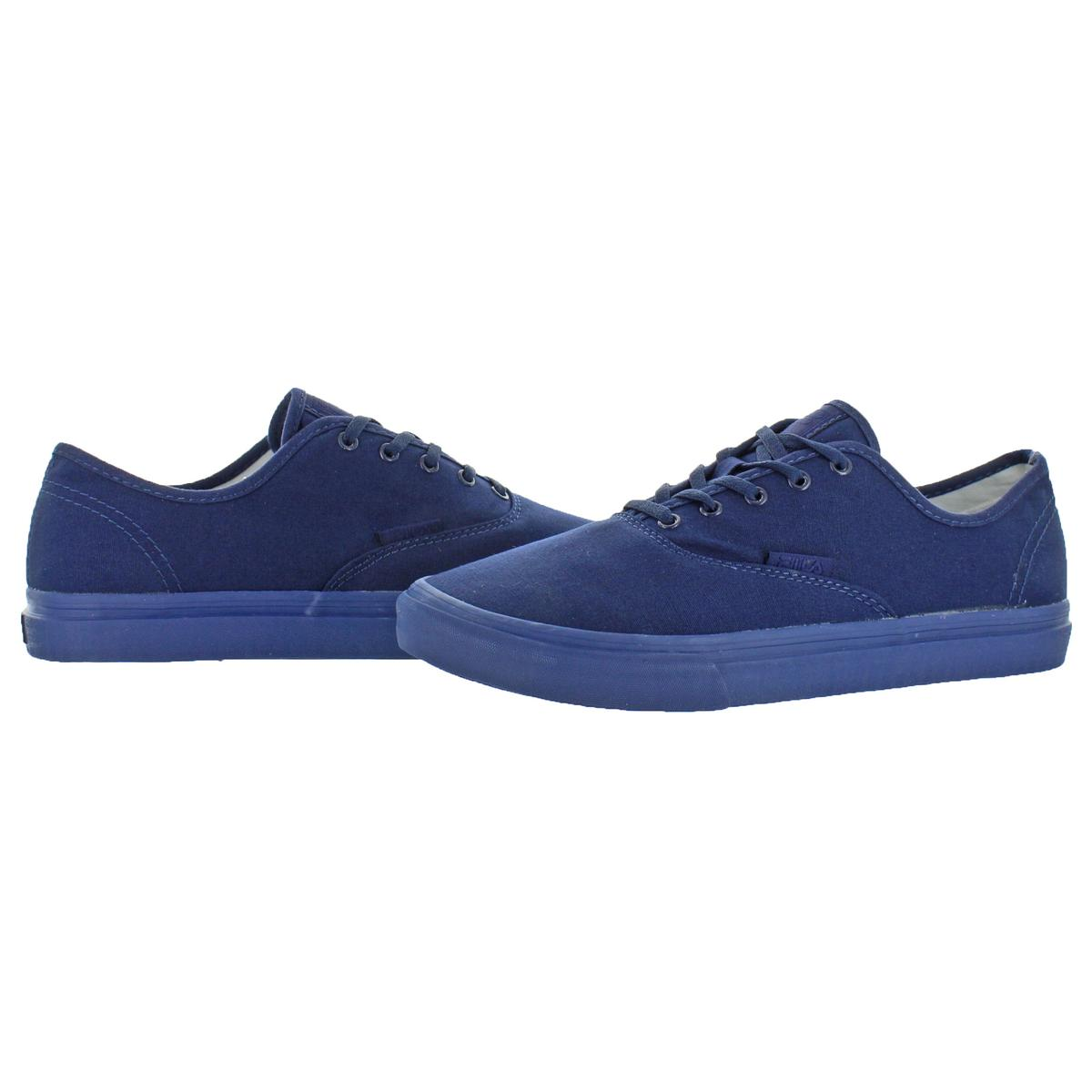 Fila-Classic-Canvas-Men-039-s-Fashion-Skate-Sneakers-Shoes thumbnail 3