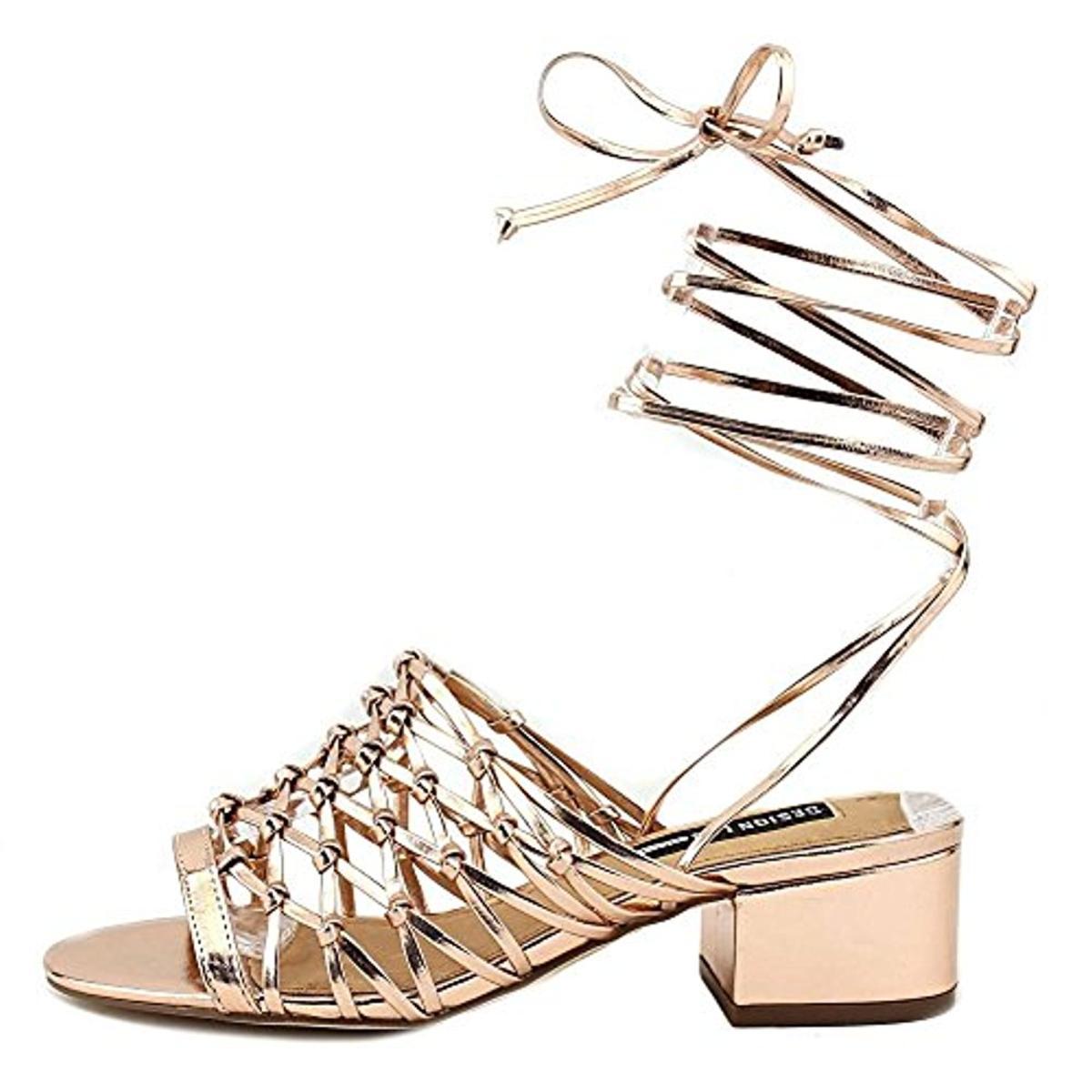 Design-Lab-Womens-Mya-Wrap-Open-Toe-Dress-Heels-Shoes-BHFO-2941 thumbnail 12