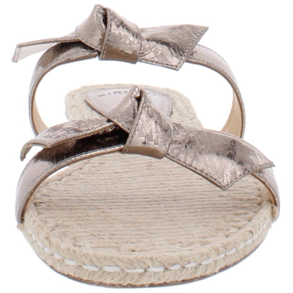 thumbnail 9 - Alexandre Birman Womens Clarita Leather Flats Slide Sandals Shoes BHFO 6244