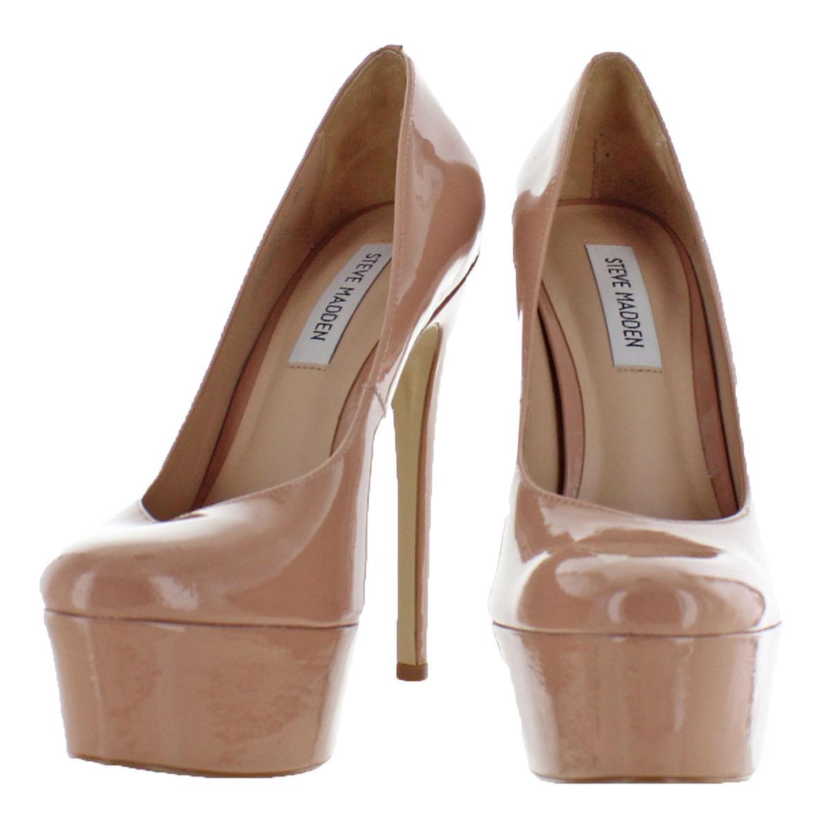 Steve-Madden-Womens-Deserve-Solid-Dress-Pumps-Platforms-BHFO-0713 thumbnail 8