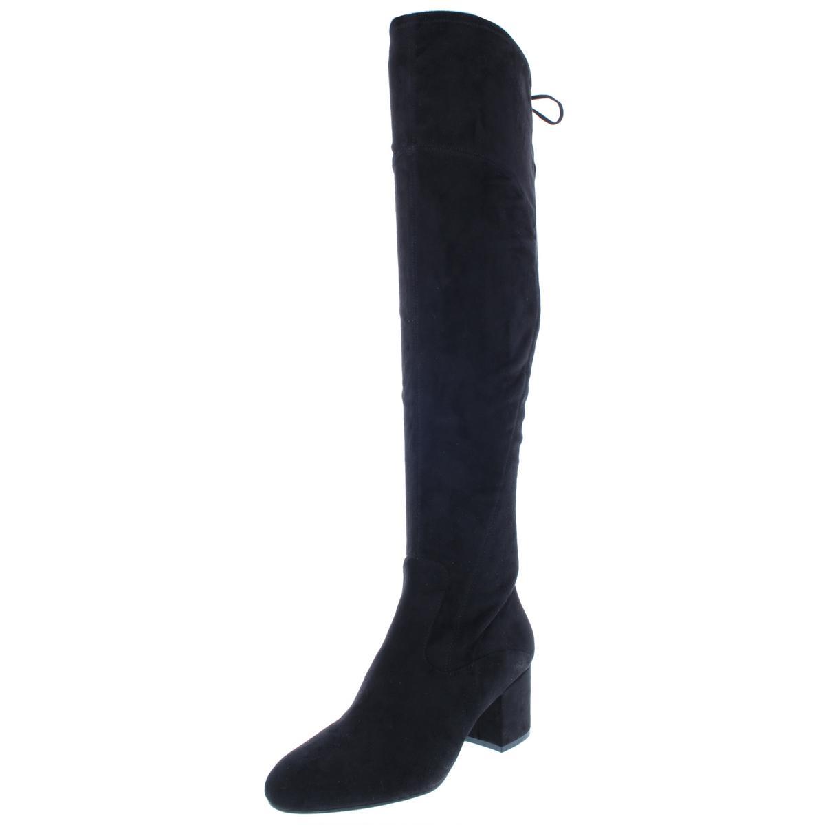 Ivanka Trump Damenschuhe Pelinda Faux Suede Tall Tall Tall Over-The-Knee Stiefel Heels BHFO 9499 872a16