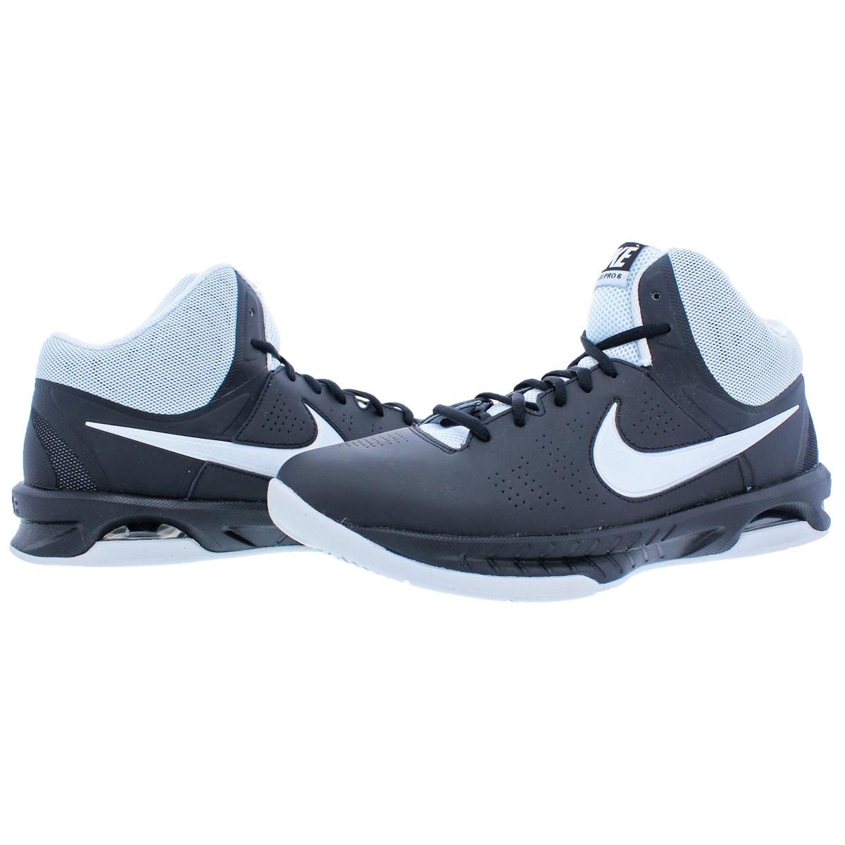 f9948e4f0db Details about Nike Womens Air Visi Pro VI Black Basketball Shoes 11.5 Medium  (B