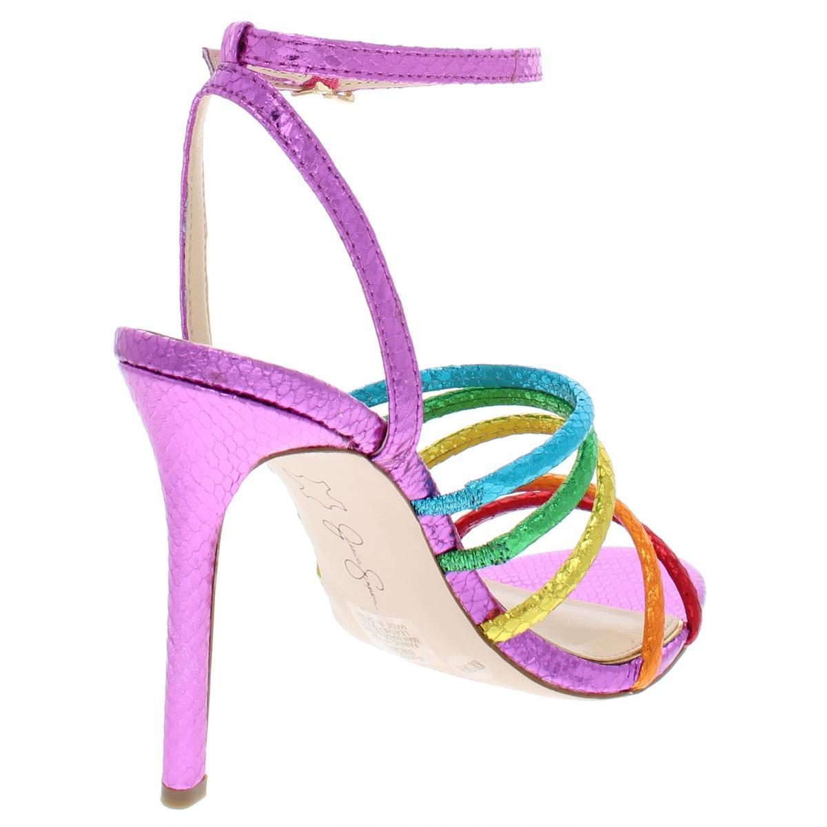 Jessica-Simpson-Femme-Joselle-a-Lanieres-Talon-Haut-Robe-Sandales-Chaussures-BHFO-7879 miniature 8