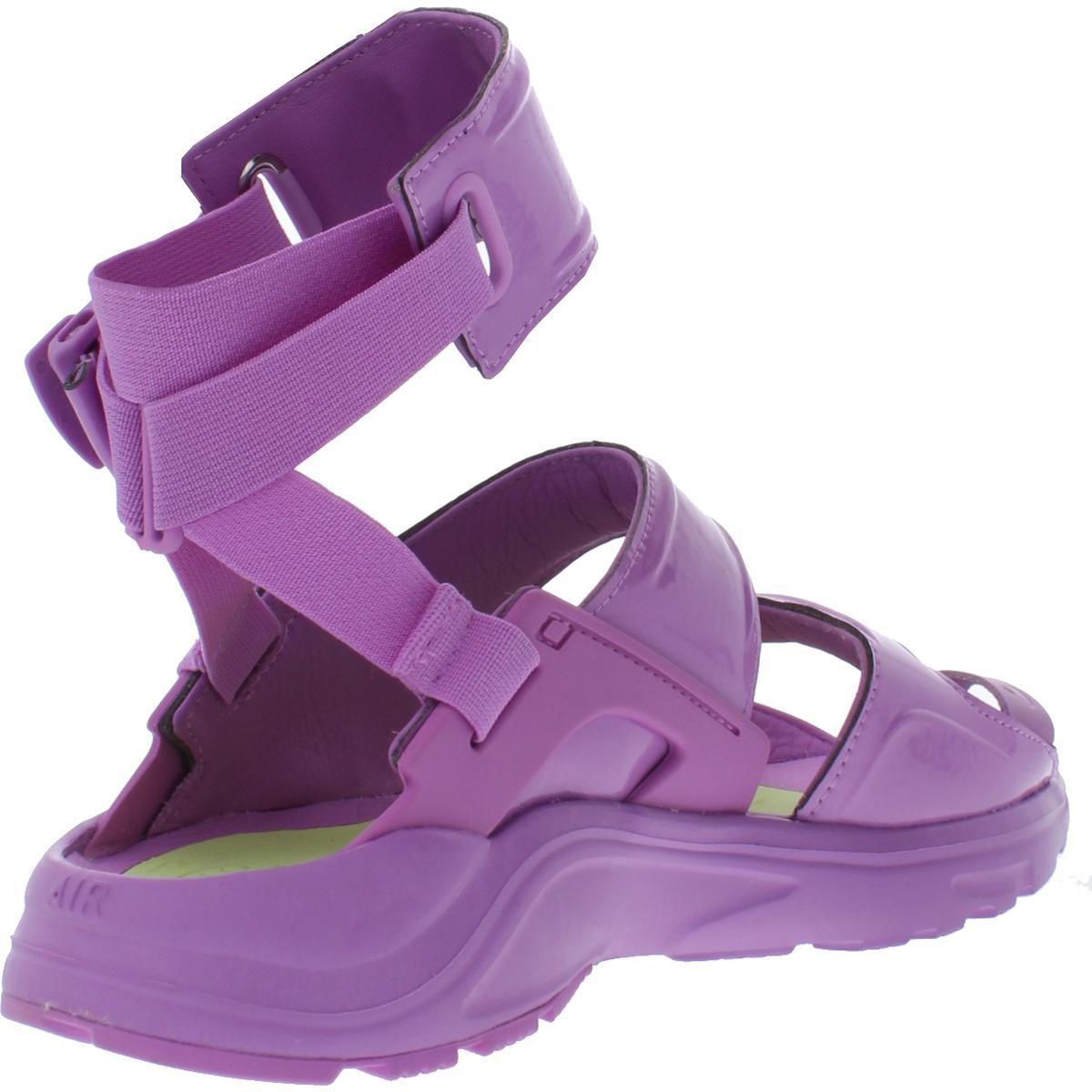 Nike-Womens-Air-Huarache-Gladiator-QS-Toe-Loop-Sport-Sandals-Shoes-BHFO-3410 thumbnail 4