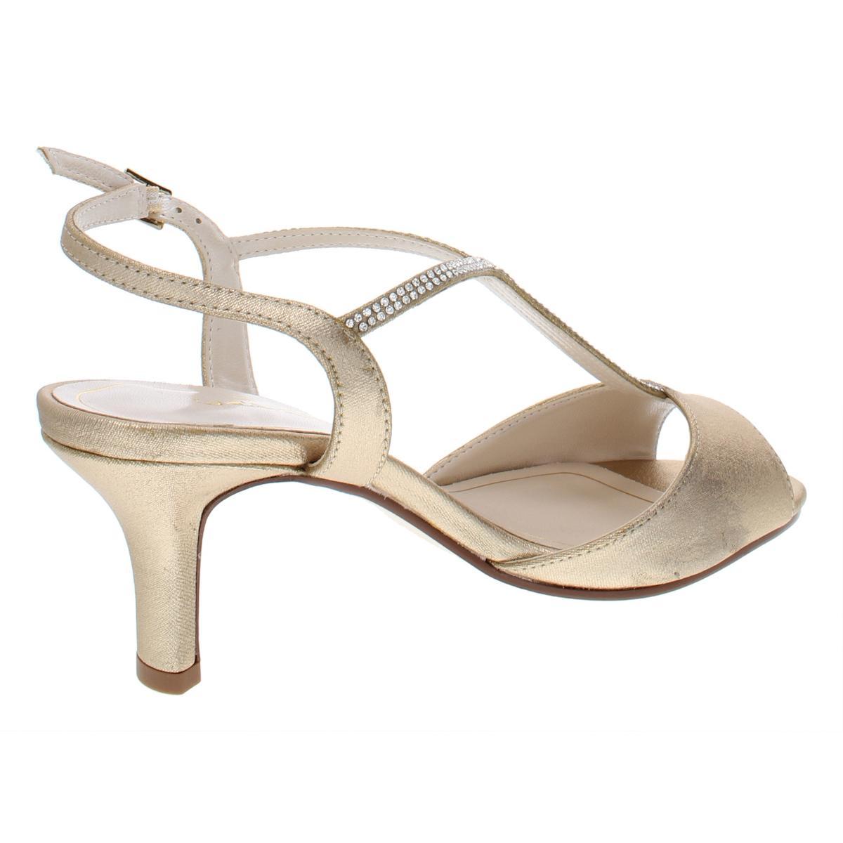 Caparros-Womens-Delicia-Rhinestone-Open-Toe-Evening-Heels-Shoes-BHFO-9353 thumbnail 6