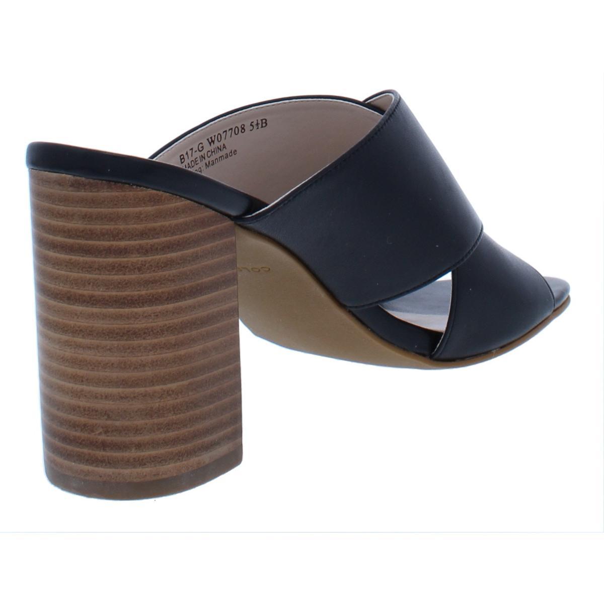 783ee466e0b Details about Cole Haan Womens Gabby Leather Criss-Cross Open Toe Heels  Sandals BHFO 9565