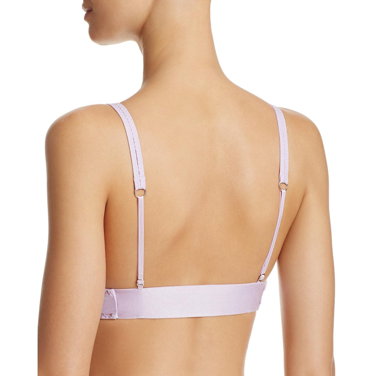 66595d9a75 Buy Intimately People Womens Stop Me Purple Plunge Soft Cup Bra L ...